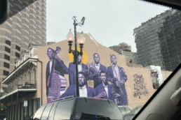 King Bolden Jazz Tribute Mural – One Time in New Orleans – mural by BMike